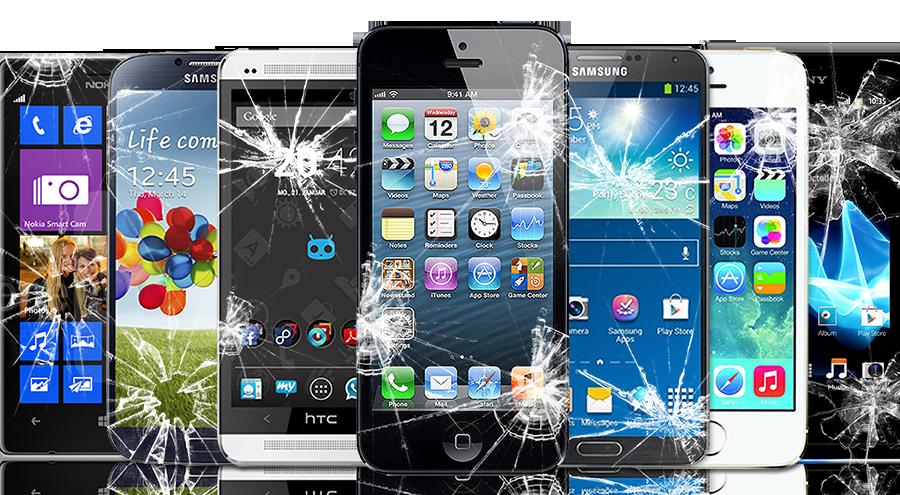 Ødelagt iPhone